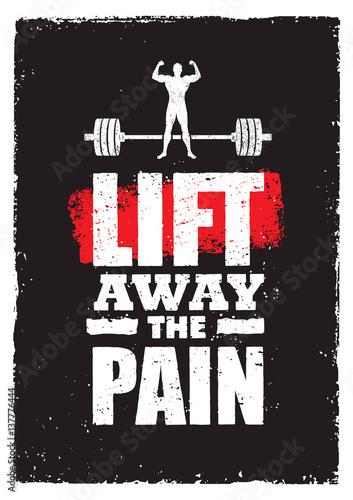 Plakát Lift Away The Pain
