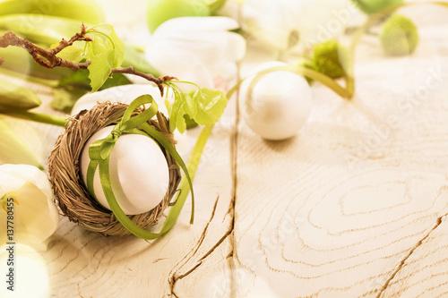 Spring Easter decoration