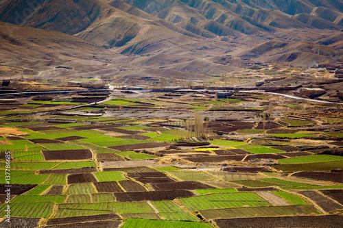 Fotobehang Marokko agriculture maghreb