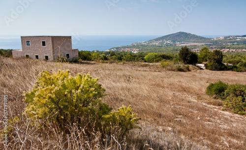 Rural landscape at Ibiza