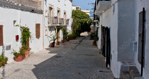 Old Ibiza street