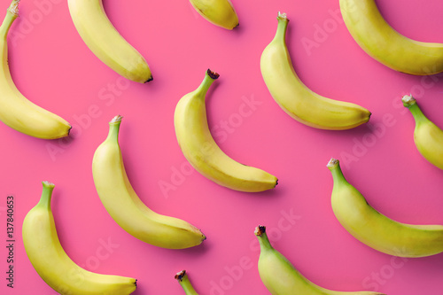 Colorful pattern of bananas - 137840653