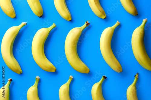 Colorful pattern of bananas - 137840697
