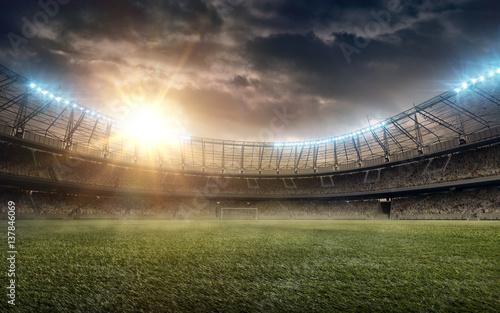 Fototapeta soccer stadium_4