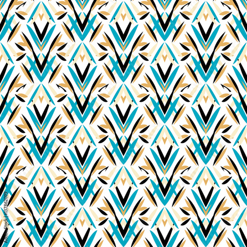 Fototapeta Art deco pattern