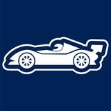 Race car icon - Illustration