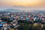 Patan at sunset  in the Kathmandu valley, Nepal - 137923409