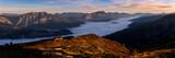 Sunrise in the austrian alps