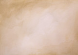 Fototapety Brown watercolor background - abstract texture