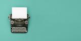 vintage typewriter header - 137970204