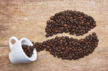 picture of coffee beans
