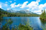 Lake Strbske pleso in Tatras mountains.