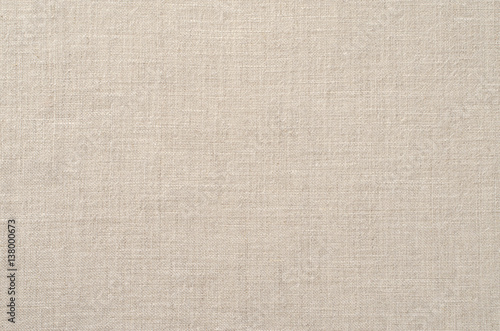 Background of natural linen fabric  © slava