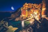 Riomaggiore Village at Night