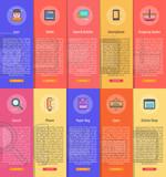 E-Commerce Vertical Banner Concept