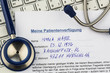 Patientenverfügung - 138051669