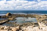 Руины древнего города на морском берегу