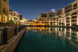 Arabian architecture in Dubai downtown