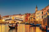 Grand Canal and Rialto Bridge, Venice - 138093462
