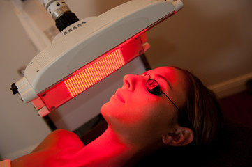 light therapy session
