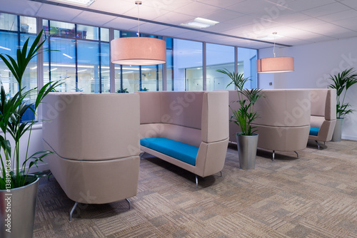 Comfortable Commercial Seating Area - 138194063