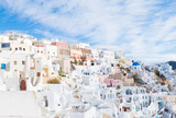 Day view in Santorini. Panorama, Oia Village, Greece