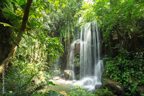 Waterfall in jungle - 138200206