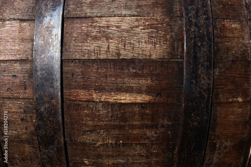 Fototapeta Old beer barrel