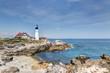 Portland Head Light lighthouse in Cape Elizabeth, Maine
