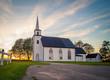 Rural church in Canada
