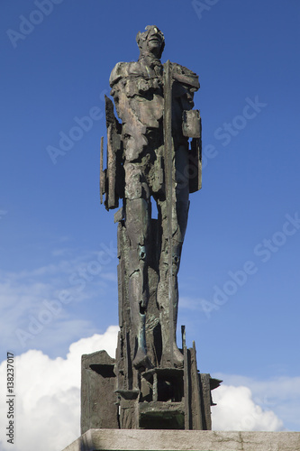 Aluminium Antwerpen Liberation Memorial Antwerp