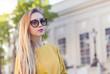 1Pretty woman with sunglasses