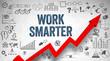 Work Smarter / Wall / Symbols / Arrow