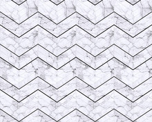 Chevron zigzag marble patterned background black and white