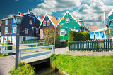 Traditional houses in Holland - 138328264