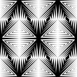 Seamless Geometric Pattern. Monochrome Minimal Graphic Design