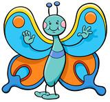 butterfly cartoon character