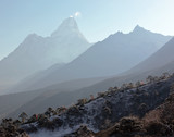 View from Tengboche in the direction Ama Dablam - Nepal? Hi,alayas