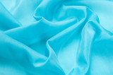 Fabric silk texture. blue - 138387680