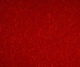The texture of the silk fabric, red - 138405619