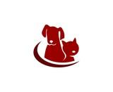 Dog cat logo - 138421026