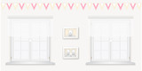 Royal baby room with window and frames vol.5