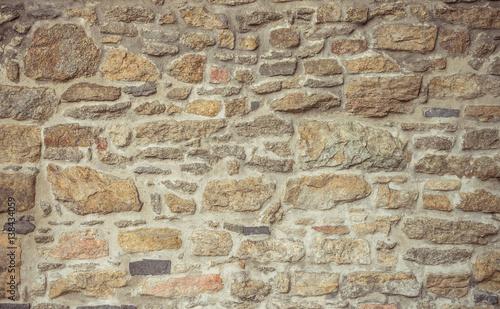 Fototapeta granite stone wall background
