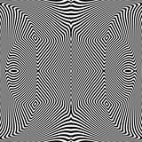 Design seamless monochrome illusion background - 138439885