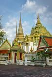 Wat pho temple Bangkok, Thailand..