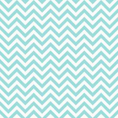 seamless classic bright blue chevron pattern.