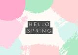 Hello Spring Design - 138466880