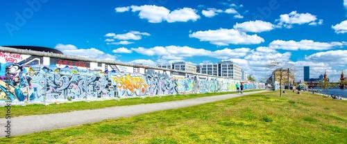 Foto op Canvas Berlijn Mur de Berlin en Allemagne