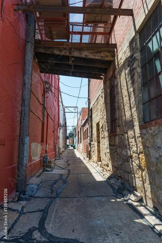 Keuken foto achterwand Smal steegje Alley