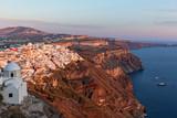 Volcanic landscape of Santorini